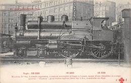 Les Locomotives  - Machine N° 802 Du Réseau EST -  Cheminots  -  Chemin De Fer - Matériel