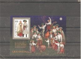 MNH Block Nr.12 In MICHEL Catalog - Lettonie