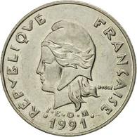 Monnaie, Nouvelle-Calédonie, 20 Francs, 1991, Paris, TTB+, Nickel, KM:12 - Nouvelle-Calédonie