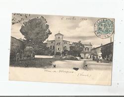 MAS DE FOURQUES (LUNEL HERAULT) (POULES CHARRETTES A FOINS) 1904 - Lunel