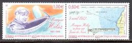 TAAF - 2012 - Diptyque Maryse Hilsz, Atterrissage à Juan De Nova ** - Terres Australes Et Antarctiques Françaises (TAAF)