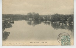 MERY SUR OISE - L'Oise, Aval - Mery Sur Oise