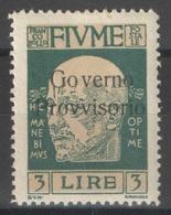 Italie - YT 144 * - 1921 - 8. WW I Occupation