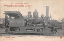 Les Locomotives  - Machine Faisant Le Service De GARGAN à LIVRY N° 0.203 Du Réseau EST -  Cheminots  -  Chemin De Fer - Matériel