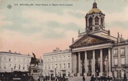 CPA - Bruxelles - Place Royale Et Eglise Saint-Jacques - SBP N° 212 - 1908 - Places, Squares