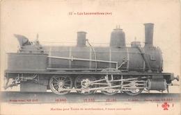 Les Locomotives  - Machine Pour Trains De Marchandises N° 0.667 Du Réseau EST -  Cheminots  -  Chemin De Fer - Matériel