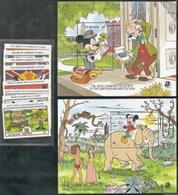St Vincent,  Scott 2017 # 1132-1141,  Issued 1989,  Set Of 8 + 2 S/S,  MNH,  Cat $ 3.50,  Disney - St.Vincent (1979-...)