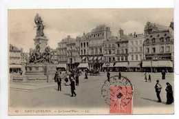 - CPA SAINT-QUENTIN (02) - La Grand'Place 1908 (belle Animation) - Editions Lévy N° 67 - - Saint Quentin