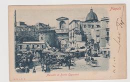 NAPOLI, Mercato Di Porta Capuana,  Ediz. E.J.R.N.  151  - F.p. - Fine '1800 - Napoli