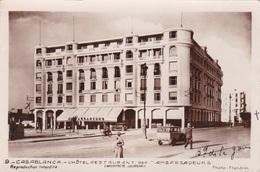 CASABLANCA L'HOTEL RESTAURANT DES AMBASSADEURS SCRITTA   AUTENTICA 100% - Casablanca