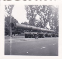 AR16 Photograph - Small Photo, Very Large Lorry With Heavy Load - Cars