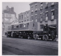 AR16 Photograph - Pickfords Lorry Transporting A Railway Carriage - Cars