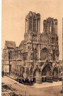 DEPT 51 : édit. G Graff Et Lambert N° 23 : Reims La Cathédrale La Façade - Reims