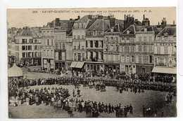 - CPA SAINT-QUENTIN (02) - Les Prussiens Sur La Grand'Place 1908 - Edition P. D. 204 - - Saint Quentin