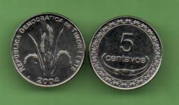 TIMOR DEL ESTE - 5 CENTAVOS  KM2 - Timor