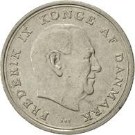 Monnaie, Danemark, Frederik IX, Krone, 1972, Copenhagen, TTB+, Copper-nickel - Danemark
