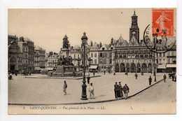 - CPA SAINT-QUENTIN (02) - Vue Générale De La Place 1912 (avec Personnages) - Editions Lévy N° 3 - - Saint Quentin