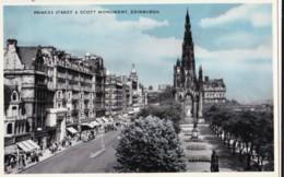 AS31 Princes Street And Scott Monument, Edinburgh - Photoblue Pc - Midlothian/ Edinburgh