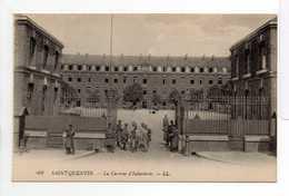 - CPA SAINT-QUENTIN (02) - La Caserne D'Infanterie (avec Personnages) - Editions Lévy N° 49 - - Saint Quentin