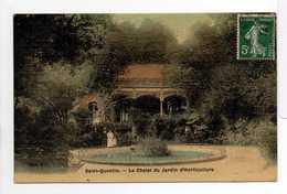 - CPA SAINT-QUENTIN (02) - Le Chalet Du Jardin D'Horticulture 1909 - Edition A. L. - - Saint Quentin