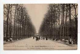 - CPA SAINT-QUENTIN (02) - Les Champs-Elysées - La Grande Avenue (avec Personnages) - N° 41 - - Saint Quentin