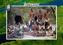 Botswana People Musicians New Postcard - Botsuana