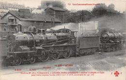 Les Locomotives  - Machine N° 2815 Du Réseau OUEST -  Cheminots  -  Chemin De Fer - Matériel