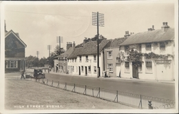 Bushey (Hertfordshire) Photo Card // High Street 1937 - Hertfordshire