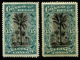 1910 Belgium Congo (2) - Belgian Congo