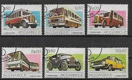 MOZAMBICO  1980 Trasporto Merci Su Auto E Camion Yvert. 737-742 Usata Vf - Mozambique