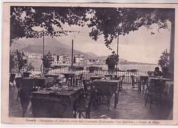 Formia- Panorama Visto Dalla Terazza Del Ristorante La Quercia Viaggiata 1939 K260 - Italia