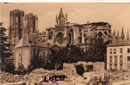 DEPT 51 : édit. G Graff Et Lambert N° 103 : Reims Sa Cathédrale Coté Est Et L Archevêché - Reims