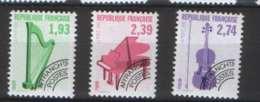Serie Preo No 210 à 212 ** TTB - 70 % Sous La Faciale - 1989-....