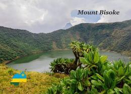 Rwanda Mount Bisoke New Postcard Ruanda AK - Rwanda