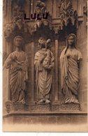 DEPT 51 : édit. G Graff Et Lambert N° 132 : Reims Sa Cathédrale Portail Du Jugement Dernier , Motifs De Gauche - Reims