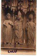 DEPT 51 : édit. G Graff Et Lambert N° 57 : Reims Sa Cathédrale Portail Du Jugement Dernier , Motifs De Droite - Reims
