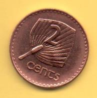 FIJI - 2 Cents 2001 SC  KM50a - Fiji