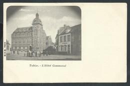 +++ CPA  - TUBIZE - Hôtel Communal - DVD 7411  // - Tubeke