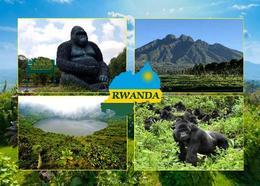 Rwanda Volcanoes National Park New Postcard Ruanda AK - Rwanda