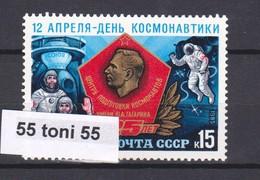 1985 Space - Day Of Astronautics 1v.-MNH USSR - Espacio