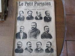 LE PETIT PARISIEN DU 10 JUIN 1894 LES NOUVEAUX MINISTRES,UNE COLONIE DE JEUNES TRAVAILLEURS AUX ENVIRONS DE PARIS - Journaux - Quotidiens