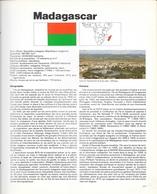 MADAGASCAR   -  HISTOIRE + TIMBRES OBLITERES -  APRES 1960 - Madagascar (1960-...)