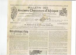 Bulletin Des Anciens Chasseurs D'Afrique N°363-365 - Journaux - Quotidiens
