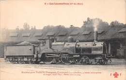 Les Locomotives  -   Machine Pour Train De Voyageurs N° 1709  Du Réseau Du MIDI  -  Cheminots  -  Chemin De Fer - Matériel