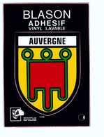 Carte Autocollant Blason Ecusson Adhesif Auvergne - A Systèmes