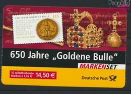 BRD MH62I A (kompl.Ausg.) Postfrisch 2006 Goldene Bulle (9293582 - BRD