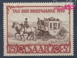 Saarland 291 (kompl.Ausg.) Postfrisch 1950 IBASA Postkutsche (8291822 - 1947-56 Occupation Alliée