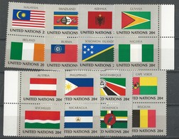 NU - New-York: 365/ 380 **  Drapeaux - Timbres