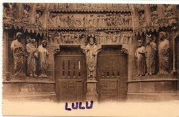 DEPT 51 : édit. G Graff Et Lambert N° 136 : Reims Sa Cathédrale Portail Du Jugement Dernier - Reims