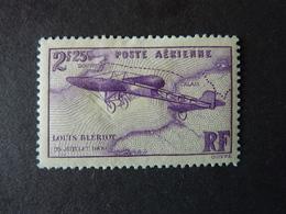 FRANCE, Année 1934, Poste Aérienne YT N° 7 Neuf, (Blériot), Petit Spot Aminci (cote 23 EUR) - Poste Aérienne